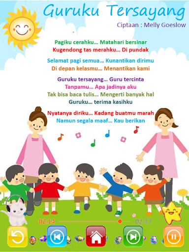 Lagu Anak Indonesia Lengkap 2.7.2 screenshots 2