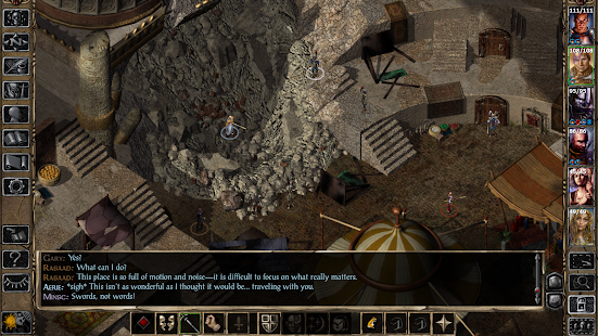 Baldur's Gate II: Enhanced Edition Capture d'écran