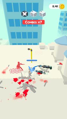 Jelly Fighter: カラーキャンディーとスティックマンゲームのおすすめ画像1