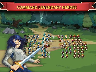 Knights and Glory – Tactical Battle Simulator Mod Apk (Auto Win) 9