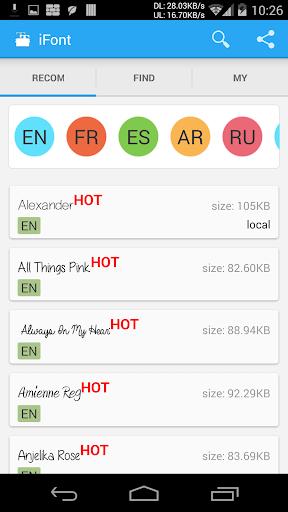 iFont(Expert of Fonts) 5.9.8.8 Screenshots 1