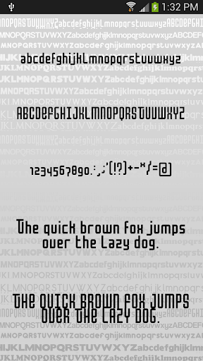 Clean2 font for FlipFont free ss1