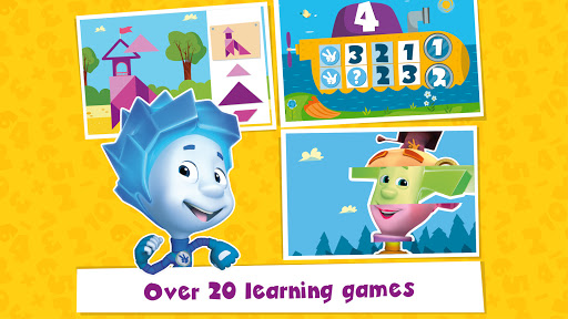 The Fixies Cool Math Learning Games for Kids Pre k 5.1 Screenshots 1