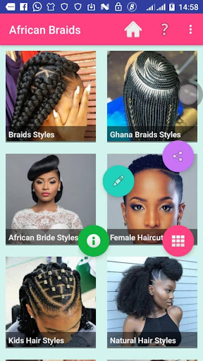 AFRICAN BRAIDS 2020 1.3 Screenshots 1