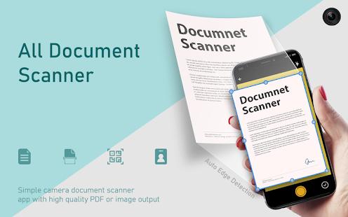 Document Scanner : DocScanner, Auto Edge Detection