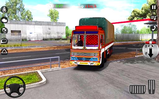 City Cargo Truck Driving 2021: Euro Truck Sim  screenshots 4