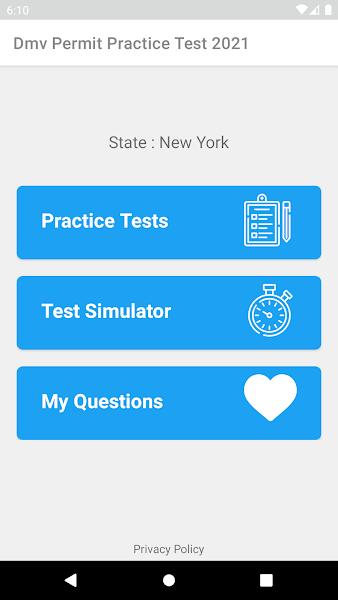 DMV Permit Practice Test 2021