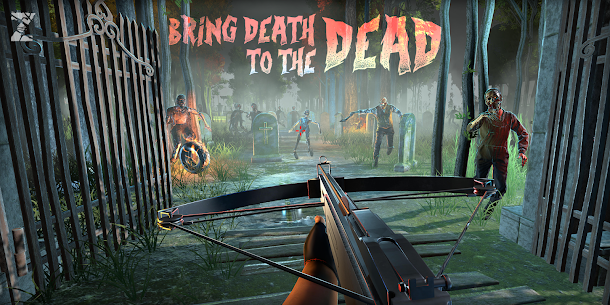 Mort Zombie Shooter: țintă Zombie Jocuri 3D 1