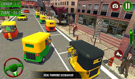 Tuk Tuk Auto Rickshaw Driver 2019:City Parking 1.5 screenshots 17