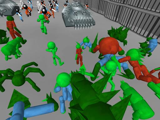 Stickman Prison Battle Simulator: Zombies screenshots 17