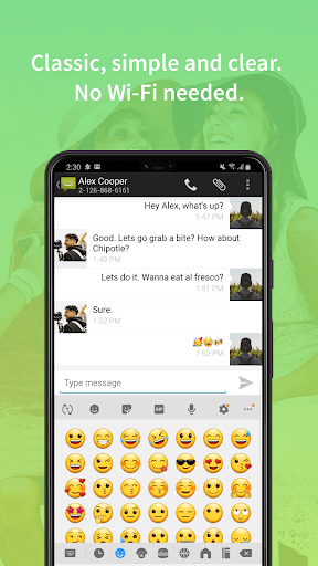 Messaging Classic  screenshots 1
