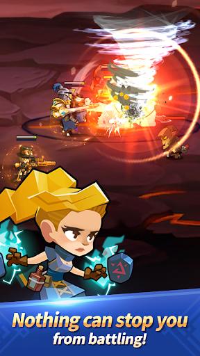 Dungeon Tactics : AFK Heroes apkdebit screenshots 3