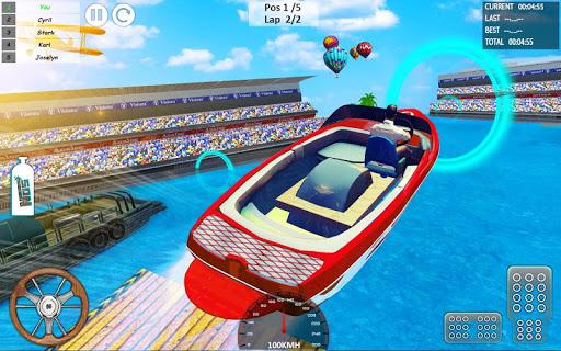 Xtreme Boat Racing 2019: Speed Jet Ski Stunt Games screenshots 13