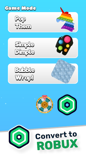 Pop It and Bubble Wrap - Free Robux - Roblominer  screenshots 5