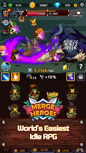 Merge Heroes Frontier: Casual RPG Online 3.3.0 screenshots 2