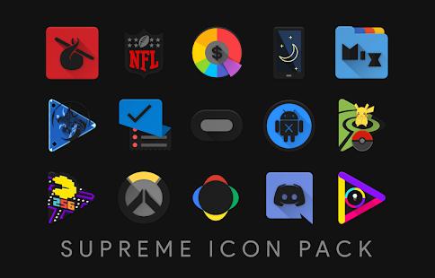 Supreme Icon Pack Screenshot