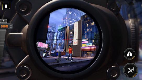 Sniper Mission 3D Mod Apk: New Assassin Games (God Mode) 2