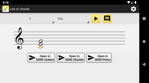 NotesDeMusique (Learning to read musical notation) 6.3 screenshots 2