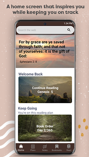 Bible Home - Daily Bible Study, Verses, Prayers apktram screenshots 2
