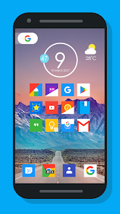 Oreo Square - Icon pack Screenshot