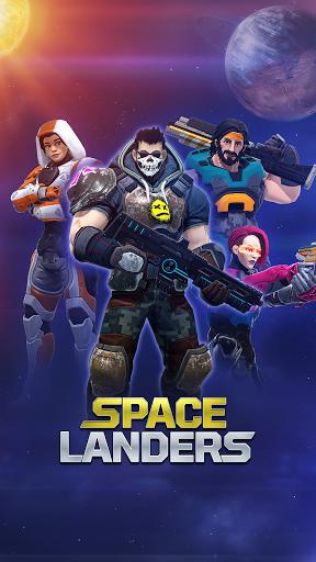 Spacelanders: Hero Survival - arcade shooter Apkfinish screenshots 7