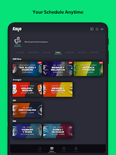 Kayo Sports - for Android TV screenshots 18