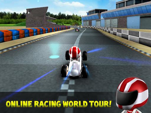 Kart Rush Racing - 3D Online Rival World Tour 12.5 screenshots 4