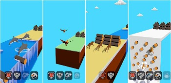Jouez à Animal Transform Race - Epic Race 3D sur PC, le tour est joué, pas à pas!