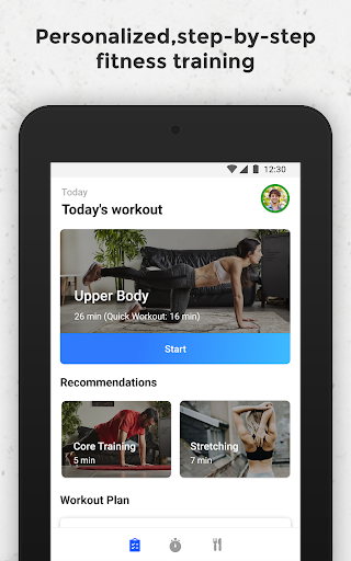 FizzUp - Online Fitness & Nutrition Coaching modavailable screenshots 9