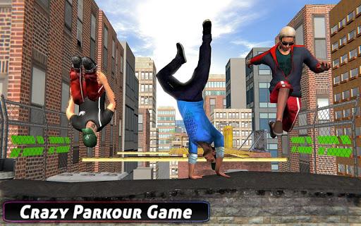 City Rooftop Parkour 2019: Free Runner 3D Game 1.3 APK screenshots 7