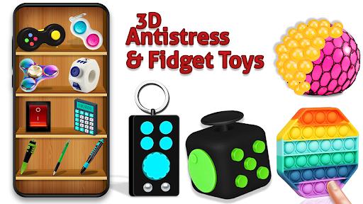 Fidget Toys 3D - satisfying anti stress toys  screenshots 1