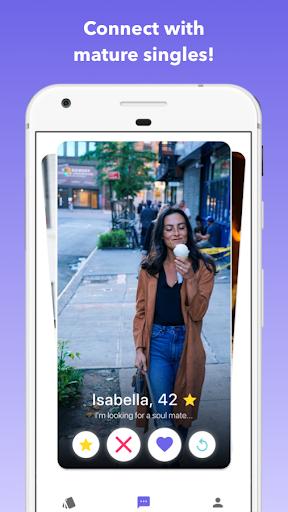 Senior Dating: Date mature singles android2mod screenshots 1