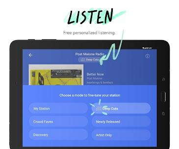 Download Pandora MOD premium APK [No-Ads/Unlocked/Premium/Plus] 5