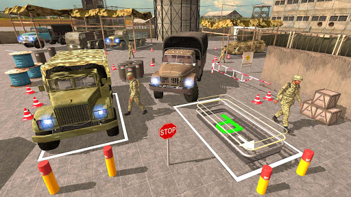 US Army Truck Pro:Army Transport modavailable screenshots 8