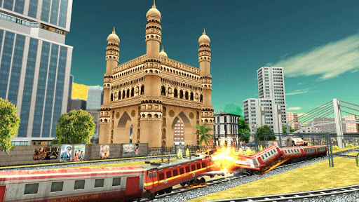 Indian Train Games 2019 Apkfinish screenshots 13