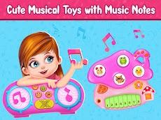 Pink Princess Musical Band - Music Games for Girlsのおすすめ画像3