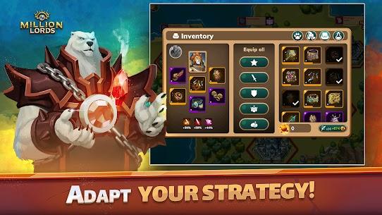 Million Lords: MMO de estrategia en tiempo real. 4
