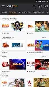 YuppTV – LiveTV, Movies, Music, IPL Live, Cricket 2