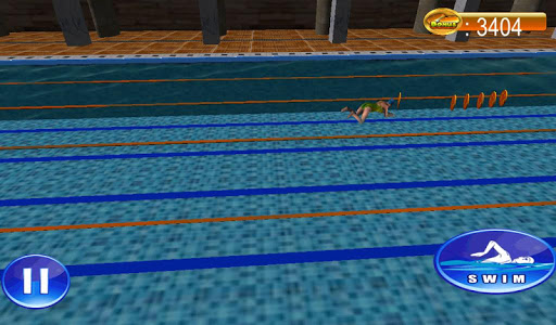 Swimming Race 3D screenshots 7
