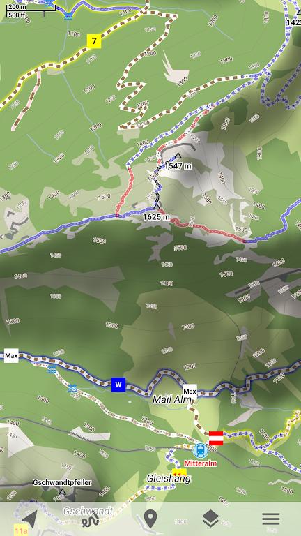 Trekarta - offline maps for outdoor activities  poster 2