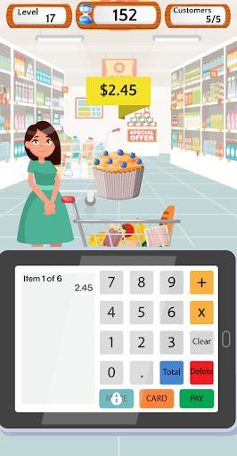 Supermarket Cashier Simulator - Money Math Game screenshots 2