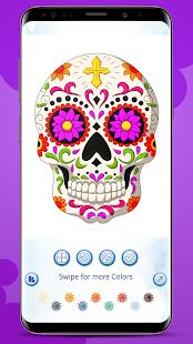 Sugar Skull Coloring Book
