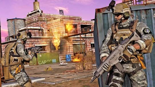 Army shooter Games: Real Commando Games APK + MOD (Money) 2