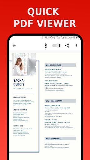 PDF Reader - PDF Viewer, eBook Reader apktram screenshots 8