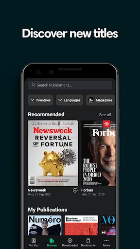 PressReader: Newspapers & Magazines 6.1.201112 Screenshots 6