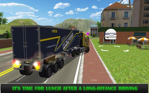 heavy truck simulator pro screenshot 2