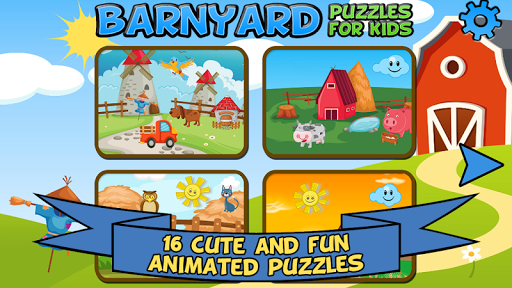 Barnyard Puzzles For Kids  screenshots 1