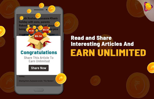 Roz Dhan: Earn Wallet cash, Read News & Play Games android2mod screenshots 10