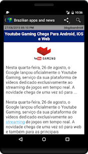 Brazilian apps and tech news 2.7.4 Download APK Mod 2