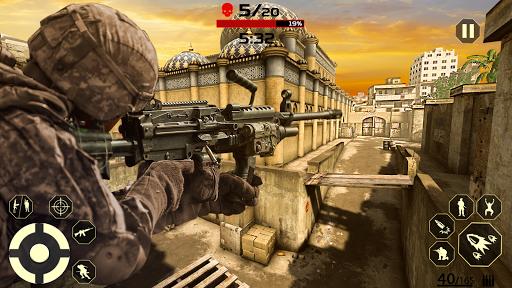 FPS Free Fire Game: New Gun Shooting Games Offline modavailable screenshots 5